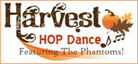 November 14 - Center for Spectrum Services' Harvest Hop Dance Featuring The Phantoms!