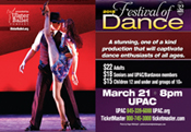 Ulster Ballet Company presents the 32nd Annual Festival of Dance at UPAC, Kingston, NY