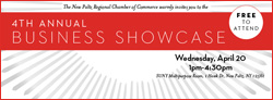 April 20- New Paltz Regional Chamber of Commerce's Business Showcase @ SUNY New Paltz
