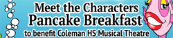 March 6 Meet The Little Mermaid Characters Pancake Breakfast