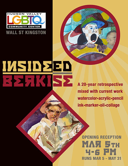 March 5, 2016 - Opening Reception Of Ed Berkise 20-Year Art Retrospective