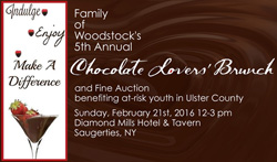 February 21, 2016 - Family of Woodstock's Chocolate Lover's Brunch