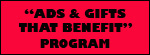"""Ads & Gifts That Benefit"" Program  Supporting Careviers in Mid-Hudson Valley NY"