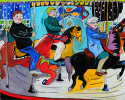 """Central Park Carousel"", by Stacie Flint"