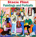 Stacie Flint, Expressionist Paintings and Portrait Commissions