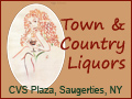 Town & Country Liquors, Saugerties NY