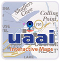 Universal Maps Southern Ulster County, New York