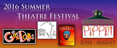 Woodstock Playhouse 2016 Summer Theatre FEstival