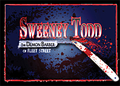 "August 13,14,15,16,20,21,22,23 Woodstock Playhouse presents ""Sweeney Todd The Demon Barber of Fleet Street!"""